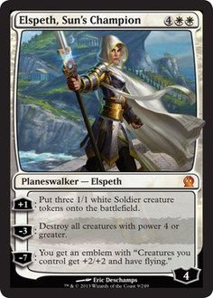 Magic: the Gathering - Elspeth, Sun's Champion (9/249) - Theros.