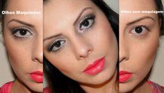 Maquiagem para Pálpebras caídas e Olhos pequenos