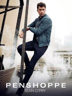 Sean O'Pry fronts Penshoppe's dramatic rooftop campaign for Autumn/Winter Rooftop Photoshoot, Men Photoshoot, American Male Models, Penshoppe, Sean O'pry, Vogue Men, Prom Photos, How To Look Handsome, Down South