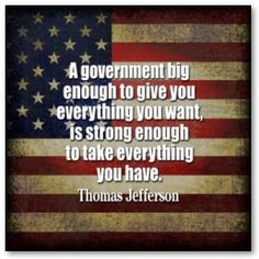 Think about this all you liberals, socialists, democrats....