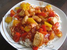 indian home decor home decor Super leichtes Hhnchen s - sauer Asian Chicken Recipes, Pork Recipes, Fish Recipes, Indian Food Recipes, Asian Recipes, Healthy Recipes, Ethnic Recipes, Indian Snacks, Weith Watchers