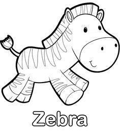 colorear-dibujo-de-zebra-pintar-imprimir.gif (505×550)