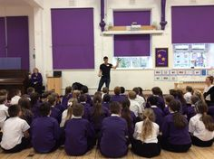 KS2 had a great day talking to @tompalmerauthor today! #WeLoveReading pic.twitter.com/W6CqggKQgg