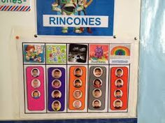 Resultado de imagen de trabajo por rincones en infantil Kindergarten, Calendar, Holiday Decor, School, Frame, Control, Infants, Classroom Ideas, Google