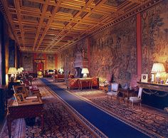 Longleat House Saloon.   You can have the soft furnishings - just leave me that ceiling