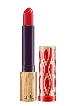 The newest offering from Tarte, this chic lipstick includes Amazonian clay to help the formula wear evenly all day. And, hello, that color? We'll take one, plus a backup!     Tarte Glamazon Pure Performance 12-hour Lipstick in Fierce