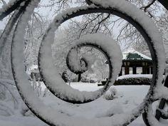 Snow Spiral (at the Butterworth Center)  Moline, IL