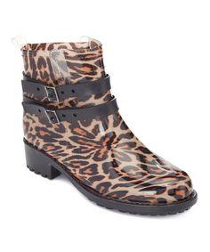 Leopard Chrissy Rain Boot