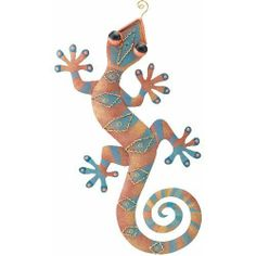 Wall Art Decor Gecko Diamond Orange (10Wx20) - Regal Art #R161 by Regal Art and Gift. $24.97. Use Of Richly Colored Automobile Paint Creates Quality, Durable Finish.. Mix And Match Items In Same Or Different Themes.. Special Painting Techniques Creates A 'Patina' Effect.. Extensive Handcrafting Is Put Into Each Piece.. This Wall Art Decor Gecko Diamond Orange (10Wx20) - Regal Art #R161 is hand-painted metal with stunning three dimensional details and rich colors...