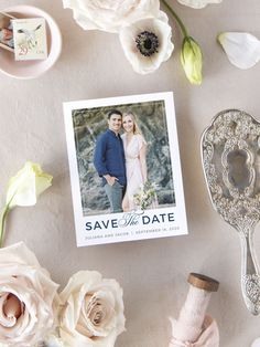Contemporary Frame Photo Wedding Save the Date Cards Save the Date Magnets Save the Date Ideas Contemporary Frame Photo Wedding Save the Date Cards Save the Date Magnets Save the Date Ideas Basic Invite nbsp hellip bedding frame Luxury Wedding Invitations, Elegant Invitations, Wedding Stationary, Save The Date Magnets, Save The Date Cards, Engagement Ideas, Wedding Engagement, Destination Wedding Save The Dates, Wedding Vendors