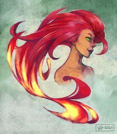 Starfire by ya-ssui