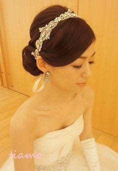 美人花嫁さまの素敵な3スタイル♡前編♡ |大人可愛いブライダルヘアメイク『tiamo』の結婚カタログ|Ameba (アメーバ)