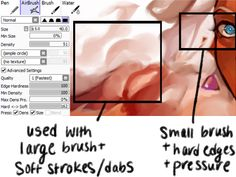 — If you don't mind me asking, what type of brush do. Sai Brushes, Photoshop Brushes, Paint Tool Sai, Drawing Tips, Drawing Reference, Image Sharing Sites, Bamboo Tablet, Brush Type, Digital Art Tutorial