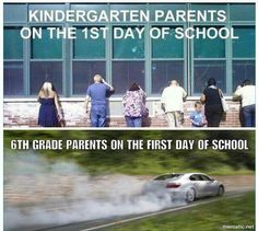 First day of school funnies