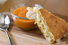 Grilled Gruyère Panini with Pickled Sweet Onions