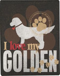 Lightweight and perfect for year round use, these 100% polyester Golden Retriever dog blankets make a fun addition to any home. Each throw measures 50 inches by 60 inches and they are washed after they are printed so they have that soft, cozy feel. These woven blankets are durable and stylish, making them great gifts!