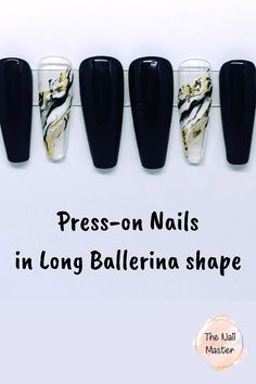 Now on SALE! Visits us at TheNailMaster.etsy.com or simply click on the image to find out more! #pressonnails #clearnails #blacknails #blackacrylicnails Black Acrylic Nails, Matte Nails, Black Nails, Best Press On Nails, Coffin Press On Nails, Stick On Nails, Glue On Nails, Black Press, Nail Jewels
