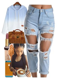 """Sooo ready"" by yasmeen4740 ❤ liked on Polyvore featuring Chanel and MCM"