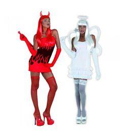 Αγγελος-Διάβολος στολή ενηλίκων Μάγοι  Μάγισσες στολές τρόμου
