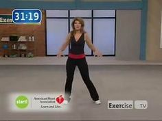Exercise TV Start walking at home 2 mile with Leslie Sansone Cardio Workout At Home, 30 Minute Workout, Walking Exercise Video, Walking Videos, Walking Workouts, Cardio Training Zu Hause, Walking Training, Leslie Sansone, Power Walking