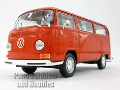 Volkswagen T2 Type 2 Bus 1972 1/24 Diecast Metal Model by Welly