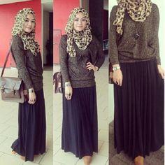 @reynasylvani ❤ hijab style