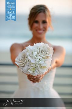 Unique Wedding Bouquet Photo by Joey Ikemoto