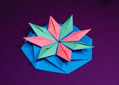 Easy origami envelope - DIY  Octagonal envelope - Great ideas for gift