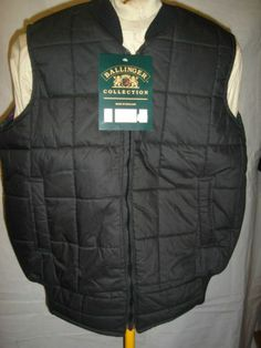 Ballinger CHECK LINED QUILTED BODYWARMER.  Made in England.