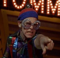 "Elton John in the movie ""Tommy"" (Ken Russel)"