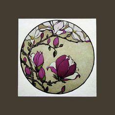 Magnolia Print By Yoshiko Yamamoto