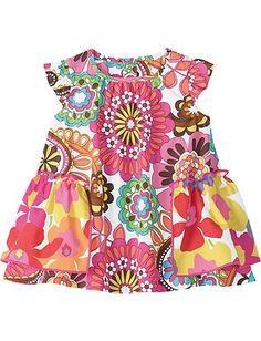 Flower Love Swing Dress...with a little sun hat- adorable!