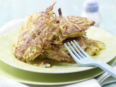 Knusprige Kartoffelrösti - mit frischer Muskatnuss - smarter - Kalorien: 120 Kcal - Zeit: 20 Min. | eatsmarter.de Kartoffelrösti sind die perfekte Beilage.