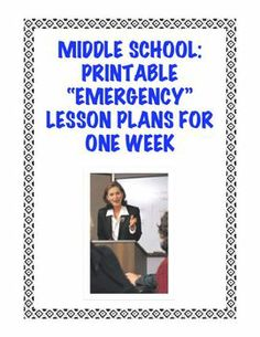 "REGULARLY UPDATED AND EXPANDED. Don't you hate that last-minute illness or emergency that keeps you away from school and stressed out about planning for a sub? Or do you just need a change of pace and easier day in your ELA classroom? This bundle now contains FIFTY (50) unique and engaging ""print and go/no prep"" printables (200+ pages in total) that can be easily used by any teacher in need of an ELA resource or activity for a Grade 5-9 class!"
