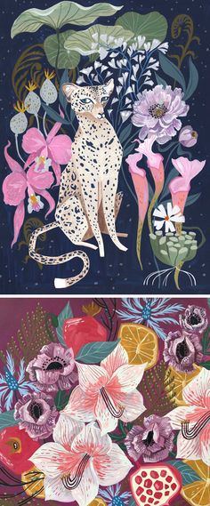 Illustrations by Rae Ritchie // gouache painting