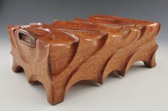 Leopard Shows His Spots - by Greg The Cajun Box Sculptor @ LumberJocks.com ~ woodworking community