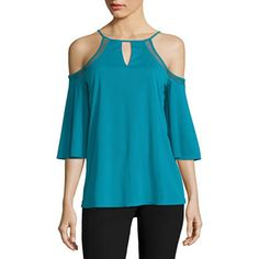 FREE SHIPPING AVAILABLE! Buy Worthington 3/4 Sleeve Cold Shoulder Blouse at JCPenney.com today and enjoy great savings.