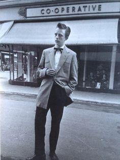 Teddy boy, London, 1954