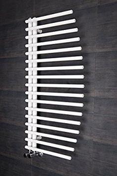 Designer Handtuchheizkörper Badheizkörper 1000x550mm Weiß