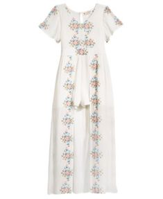 31c400e7b8e Crystal Doll Embroidered Maxi Romper