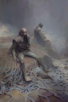 Dust, Ivan Khotenov on ArtStation at https://www.artstation.com/artwork/LY4JA