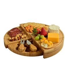 Look at this #zulilyfind! Florence Transforming Cheese Board Set #zulilyfinds