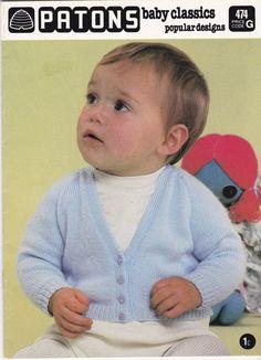 On Sale  Patons Baby Classics Popular Designs by jennylouvintage