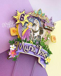 Shrek, Rapunzel Birthday Party, Happy B Day, Diy Design, Cake Toppers, 3 D, Balloons, Cricut, Scrapbooking