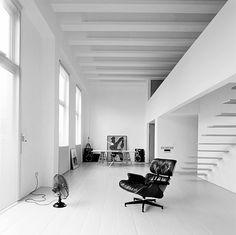 Minimal white architecture