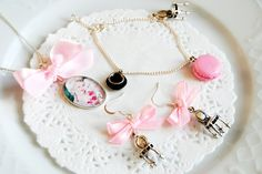 Marie Antoinette Polymer Clay Jewelry by OhlalaMademoiselle