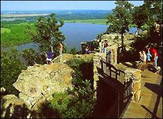 Petit Jean State Park. Petit Jean Mountain, Morrilton, Arkansas. Lots of hiking to do. Waterfalls, overlooks, and lots of beautiful places.