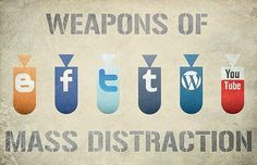 Weapons of mass distraction!