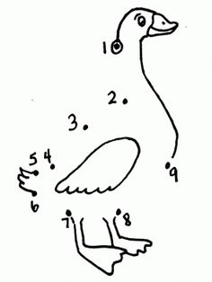 Connect The Dots Of Duck Pictures To Print See the category to find more printable coloring sheets. Also, you could use the search box to find what yo. Duck Pictures, Print Pictures, Hl Martin, Printable Shapes, Kids Math Worksheets, Animal Coloring Pages, Coloring Sheets, Kindergarten Lessons, Connect The Dots