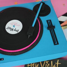 dancing music video vinyl lp turntable record player hey violet brand new moves #gif from #giphy